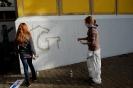 Graffiti-Aktion